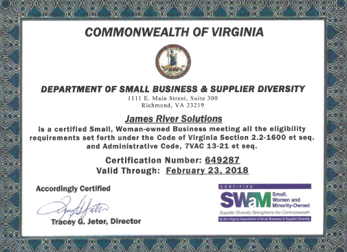 Government Fuel Supply | JRS SWaM Certified in Virginia