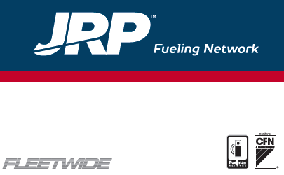 JRP Nationwide Fuel | Fleetwide Fueling Network Card