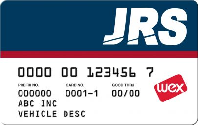 WEX JRS Fuel Card | WEX JRP Fuel Card