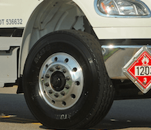 ECO-TIP: Check tire pressure frequently. Under inflated tires increase fuel consumption by 5%
